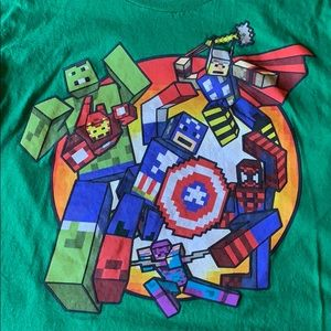 Other - Marvel Minecraft T-shirt